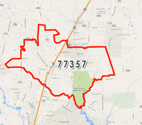 Population Of New Caney Tx Porter