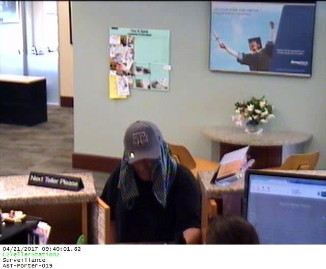 UPDATE: Bank Robber Caught