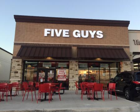 Five Guys Opening In VRTC