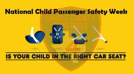 Child Passenger Safety Week- Tips for Car Seat Use