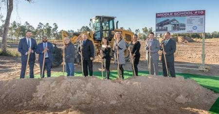 Humble ISD Breaks Ground on Middle School #10 and Renovations fo