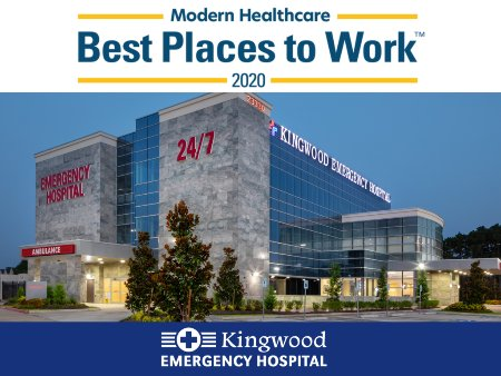 Kingwood Emergency Hospital Selected as 2020 Best Places to Work